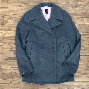 Gap Double Breasted Wool Peacoat